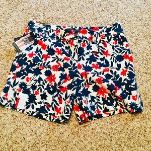 The Limited Painterly Flowers Tailored Shorts, 14